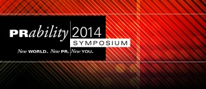 New World. New PR. New You. Join us on October 16th for our PRability Symposium!